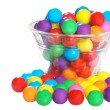 Bubble gum in a bowl — Stock Photo