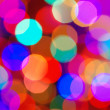 Out of Focus christmas lights background — Stock Photo