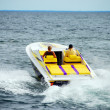 Stock Photo: Power Boating