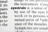 Eyestrain — Stock Photo