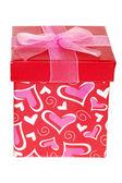 Valentines gift box — Stock Photo