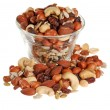 Bowl of trail mix — Photo