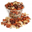 Stock Photo: Bowl of trail mix