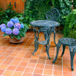 Patio Set — Stock Photo