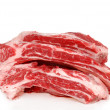 Stock Photo: Raw Beef spare ribs