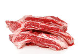 Raw Beef spare ribs — Stock Photo