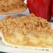 Macro apple crisp shallow DOF — Stock Photo