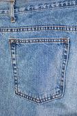 Jeans pant pocket — Stock Photo