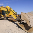 Stock Photo: Crawler excavator