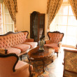 ストック写真: Bright living room of the 18th century