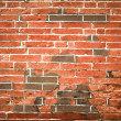 Stock Photo: Red brick wall with Chinese characteristics background