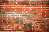 The red brick wall with Chinese characteristics background — Stock Photo