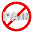 Stock Photo: Don't pain