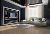 Kamer interieur — Stockfoto