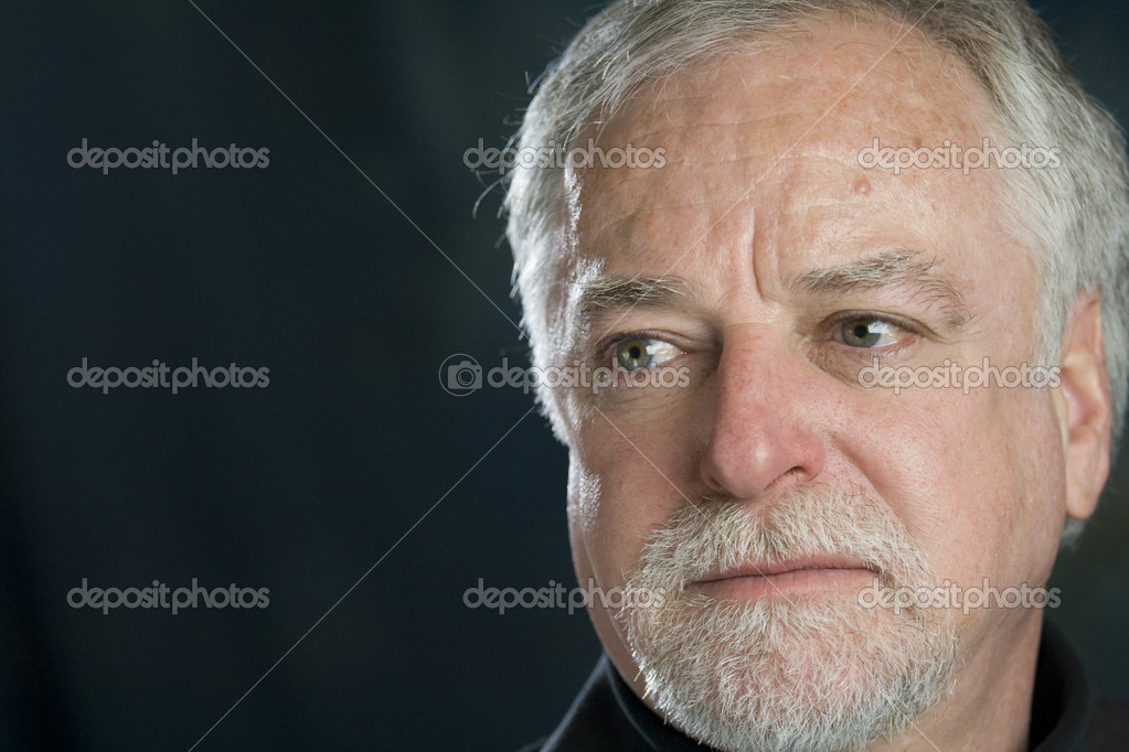 Portrait of a sad senior man — Stock Photo #2718085