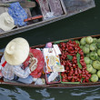 Floating market 1 - Stock Photo