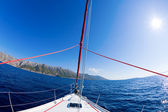 Sailing adventure — Stock Photo
