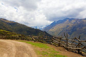 Road in Andes — Stock Photo