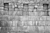 Inca wall — Stock Photo