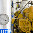 Stock Photo: Gas recovery plant, vertical