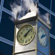 Steam clock — Stock Photo