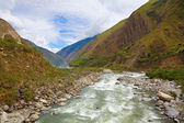 River in the Andes — 图库照片