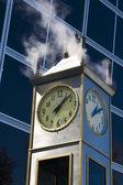 Steam clock — Stock Photo