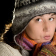Winter girl — Stock Photo #3523209