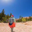 Hiking in Bryce Canyon — Stock Photo