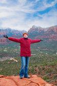 Happy in Arizona — Stock Photo