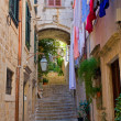 Street in Dubrovnik — Stock Photo