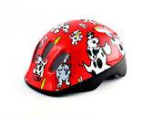 Children bike helmet — Stock Photo