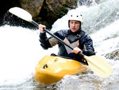 Kayaker — Stock Photo
