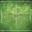 Royalty-Free Stock Photo: Grunge Soccer Field