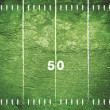 Grunge Football Field - Stock Photo