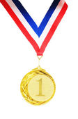 золотая медаль — Стоковое фото
