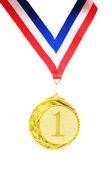 Złoty medal — Zdjęcie stockowe