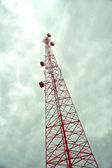 Cellular communication tower — Stock Photo