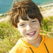 The smiling boy — Stock Photo #3913024