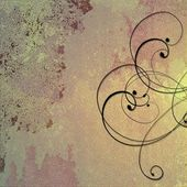 Purple abstract background with swirls — Stock Photo