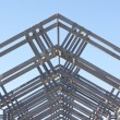 Stock Photo: Metal architectual detail