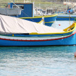 Traditional maltese fishing boat — Stock Photo