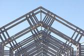 Metal architectual detail — Stock Photo