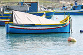 Traditional maltese fishing boat — Stock Photo