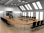 Conference of halls — Stock Photo