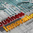 Stock Photo: Business Innovation - 3D
