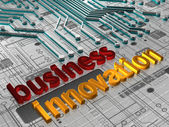Business Innovation - 3D — Stock Photo