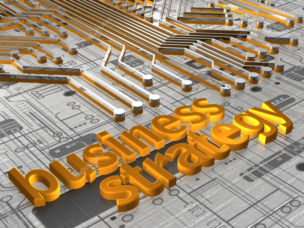 Illustration about business concepts - Business Strategy - 3D — Stock Photo #2789558