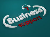 Business - support - letters — Stock Photo