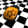 Football on Web - Stock Photo